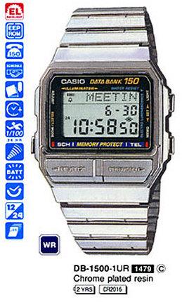 Годинник CASIO DB-1500-1DF