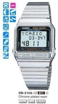 Годинник CASIO DB-310A-1Z