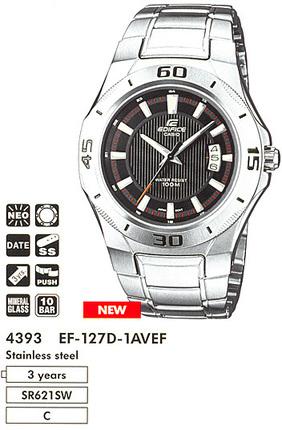 Годинник CASIO EF-127D-1AVEF
