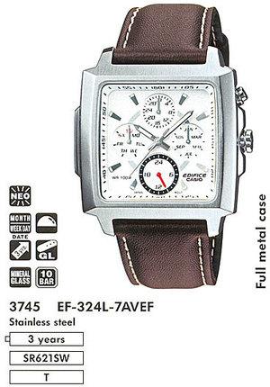 Годинник CASIO EF-324L-7AVEF