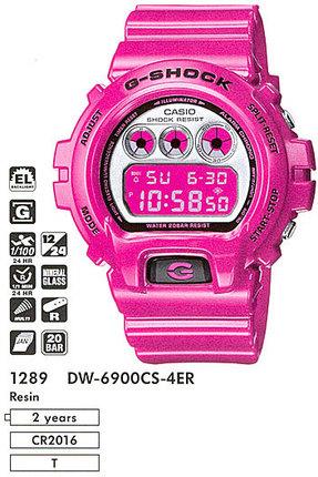 Годинник CASIO DW-6900CS-4ER
