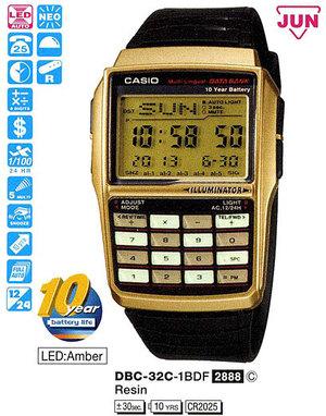 Годинник CASIO DBC-32C-1BEF