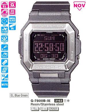 Годинник CASIO G-7800B-8ER
