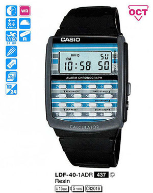 Годинник CASIO LDF-40-1AER