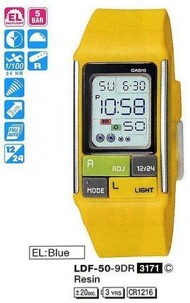 Годинник CASIO LDF-50-9EF