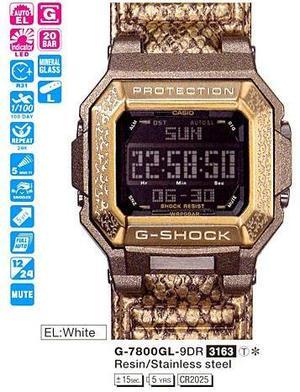 Годинник CASIO G-7800GL-9ER