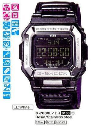 Годинник CASIO G-7800L-1ER