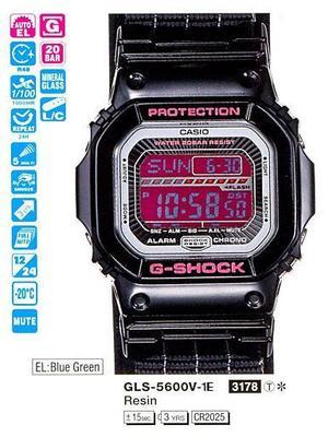 Годинник CASIO GLS-5600V-1ER