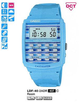Годинник CASIO LDF-40-2AER