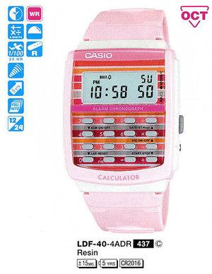 Годинник CASIO LDF-40-4AER