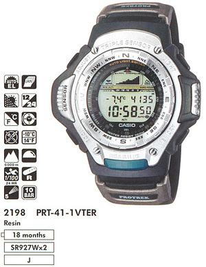 Годинник CASIO PRT-41-1VTER