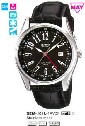 Годинник CASIO BEM-101L-1AVEF