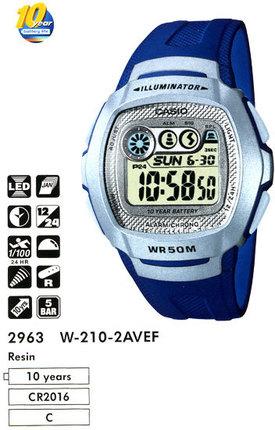Годинник CASIO W-210-2AVEF