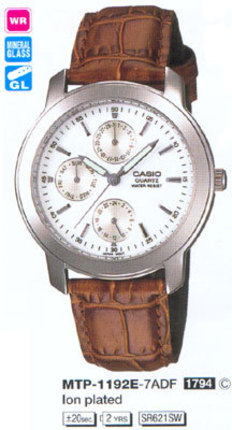 Годинник CASIO MTP-1192E-7ADF