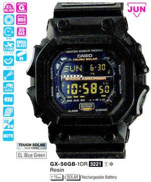 Годинник CASIO GX-56GB-1ER