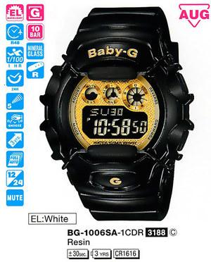 Годинник CASIO BG-1006SA-1CER