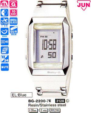Годинник CASIO BG-2200-7ER