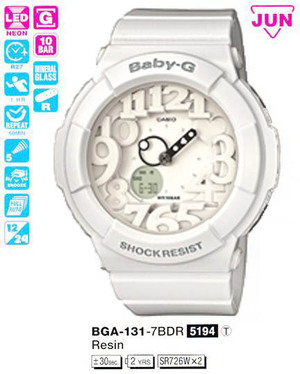 Годинник CASIO BGA-131-7BER