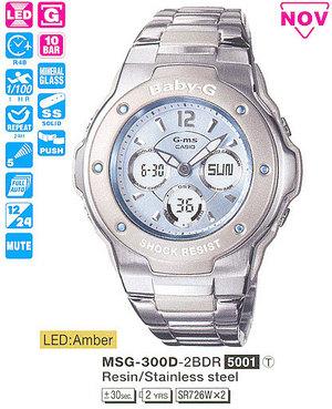 Годинник CASIO MSG-300D-2BER