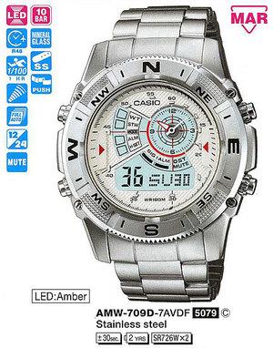 Годинник CASIO AMW-709D-7AVDF