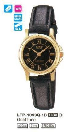 Годинник CASIO LTP-1099Q-1BH