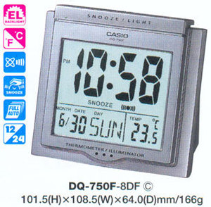 Часы CASIO DQ-750F-8DF