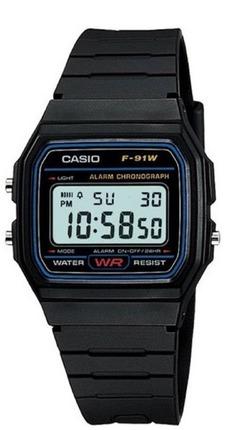 Часы CASIO F-91W-1YEG