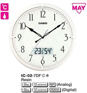 Часы CASIO IC-02-7DF