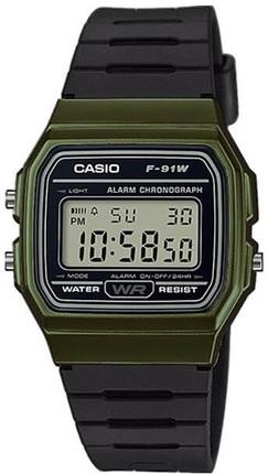 Часы CASIO F-91WM-3AEF
