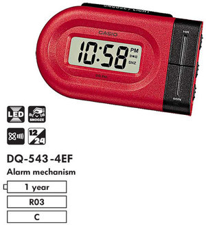 Часы CASIO DQ-543-4EF