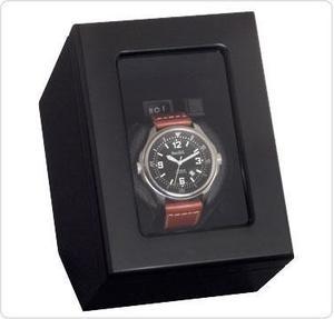 Коробка для завода часов Beco 309288 (черная)