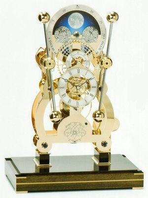 Часы SINCLAIR HARDING John Harrison Moonphase Sea Clock (Gold)