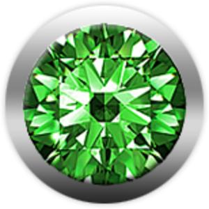 Камень CHRISTINA 146 изумруд зеленый