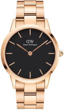Часы Daniel Wellington DW00100344 Iconic Link 40 RG Black