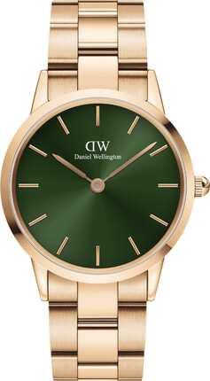Часы Daniel Wellington DW00100419 Iconic Emerald 36 RG Green