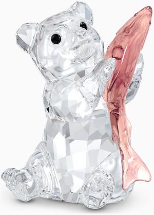 Фигурка Swarovski BEAR WITH FISH 5536772