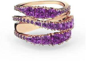 Коктейльное кольцо Swarovski TWIST 5564872 55