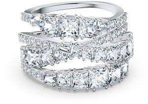 Коктейльное кольцо Swarovski TWIST 5584654 60