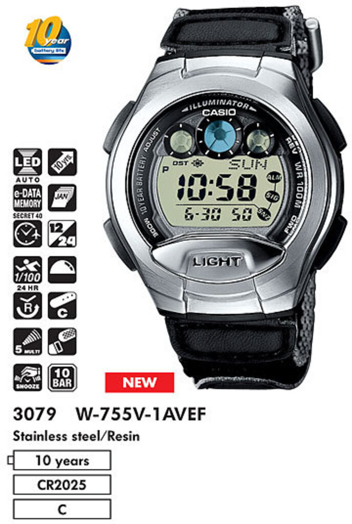 Водонепроницаемые часы Casio Edifice хлам Travelsouls
