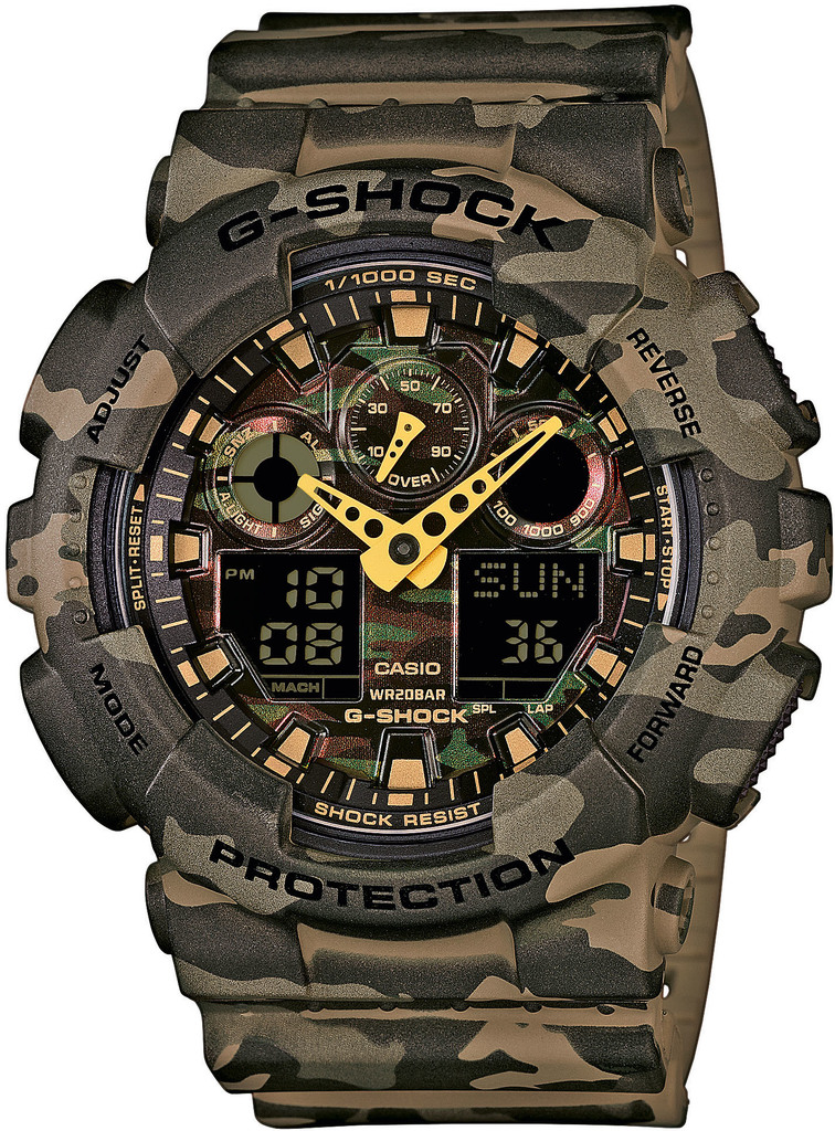 Часы CASIO GA-100CM-5AER