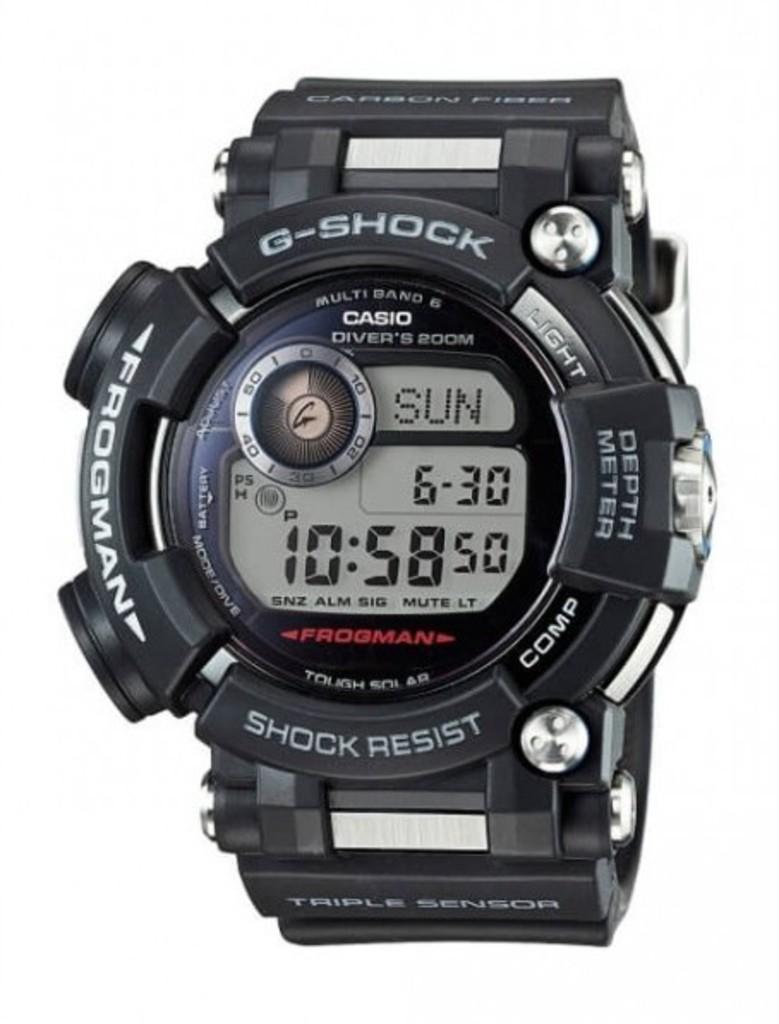 Дайверские часы Casio GWF-D1000 — новый флагман серии Frogman