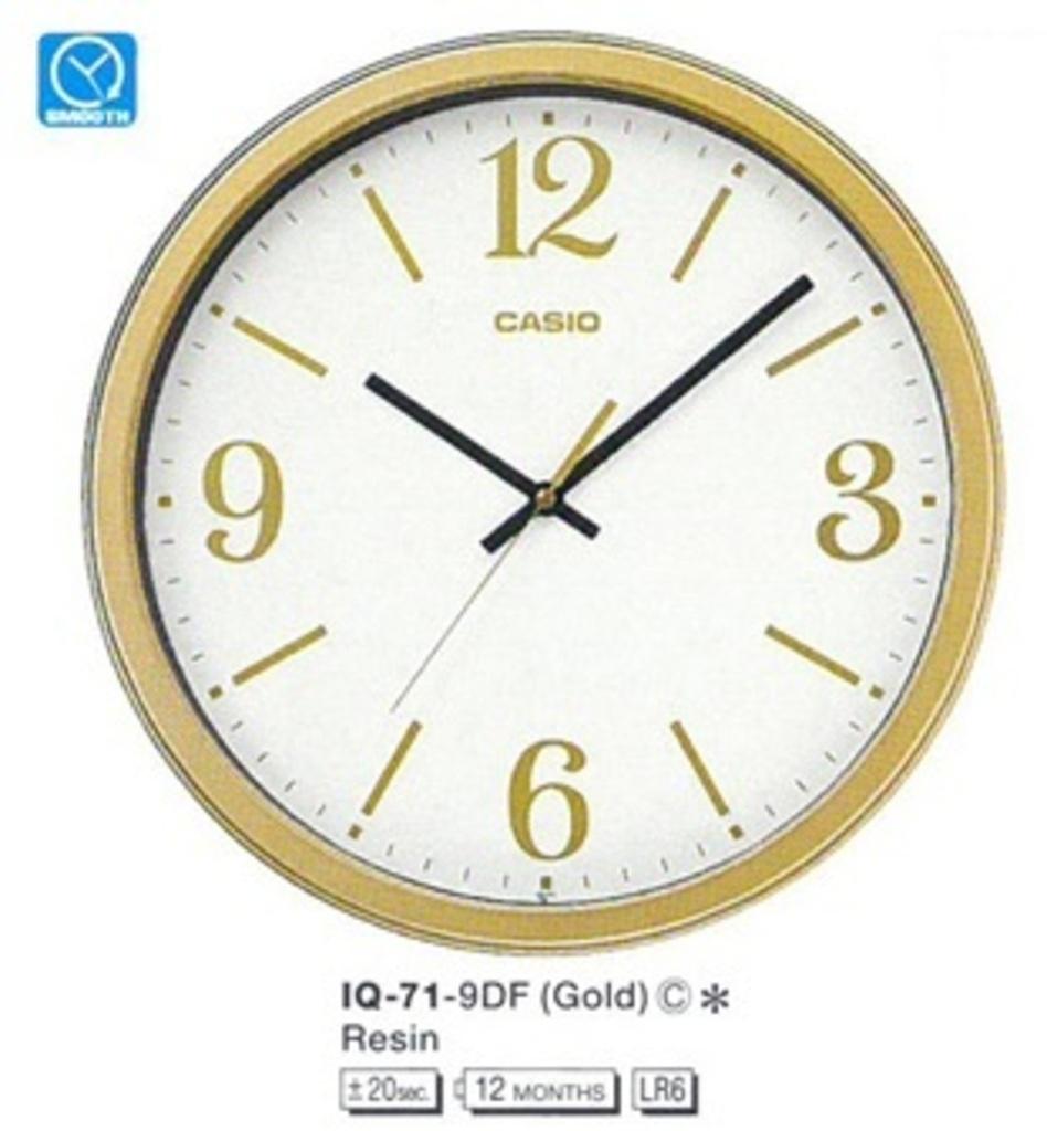 Настенные часы Casio IQ-71-9D
