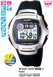 Часы CASIO W-210-1AVDF - Дека