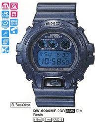 Часы CASIO DW-6900MF-2ER - Дека