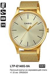 Часы CASIO LTP-E140G-9AEF - Дека