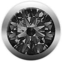 Камень CHRISTINA 146 бриллиант черный - Дека