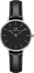 Часы Daniel Wellington DW00100236 Petite Sheffield S Black Silver 28 - Дека