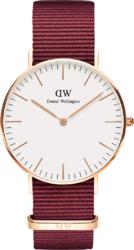 Часы Daniel Wellington DW00100271 Classic 36 Roselyn RG White - Дека